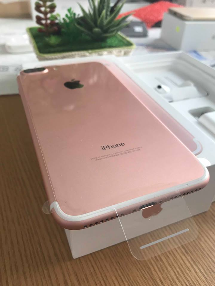 Iphone 7plus-128gb qte 100% hồng ID: 2494909