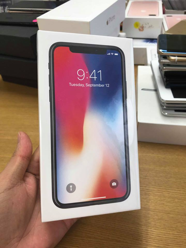 Iphone x-256gb dcm 100% đen ID: 733846