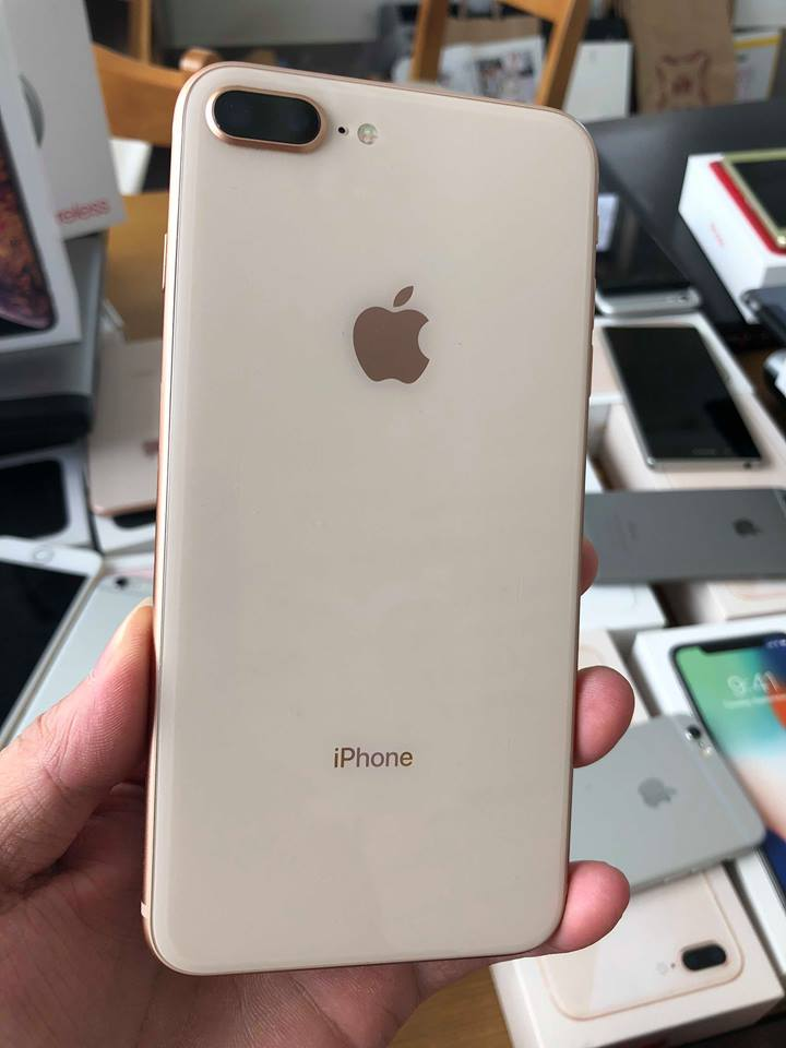 Iphone 8plus-64gb dcm 98,5% vàng ID: 34567623