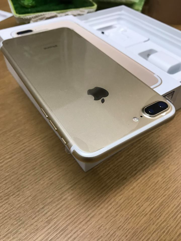 Iphone 7plus-32gb qte 100% vàng ID: 0299722