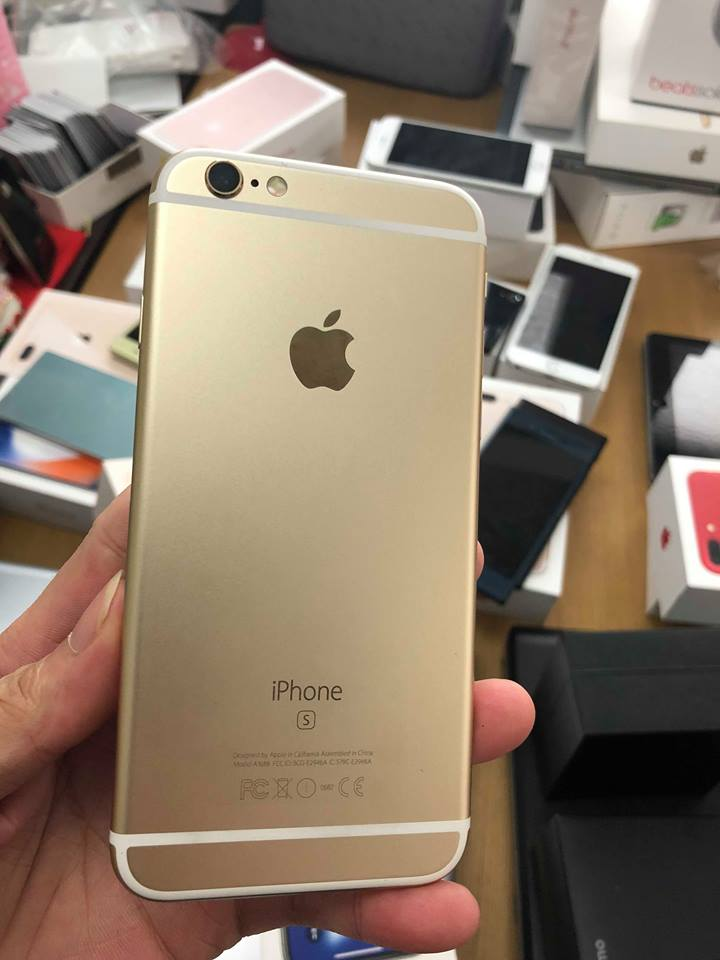 Iphone 6s-64gb qte 98,5% vàng ID: 5342315