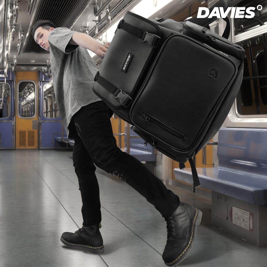 balo da nam local brand davies leather backpack box