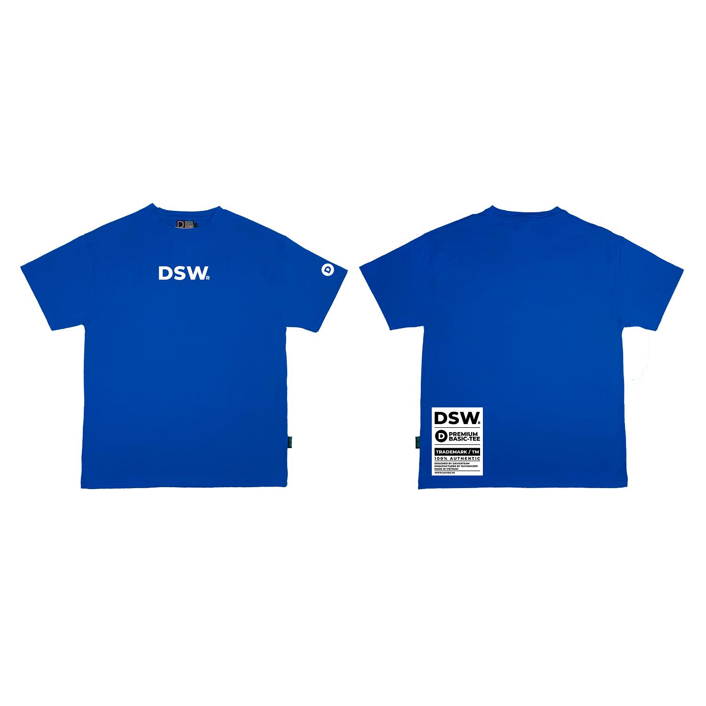 DSW Basic Tee Premium-BLUE