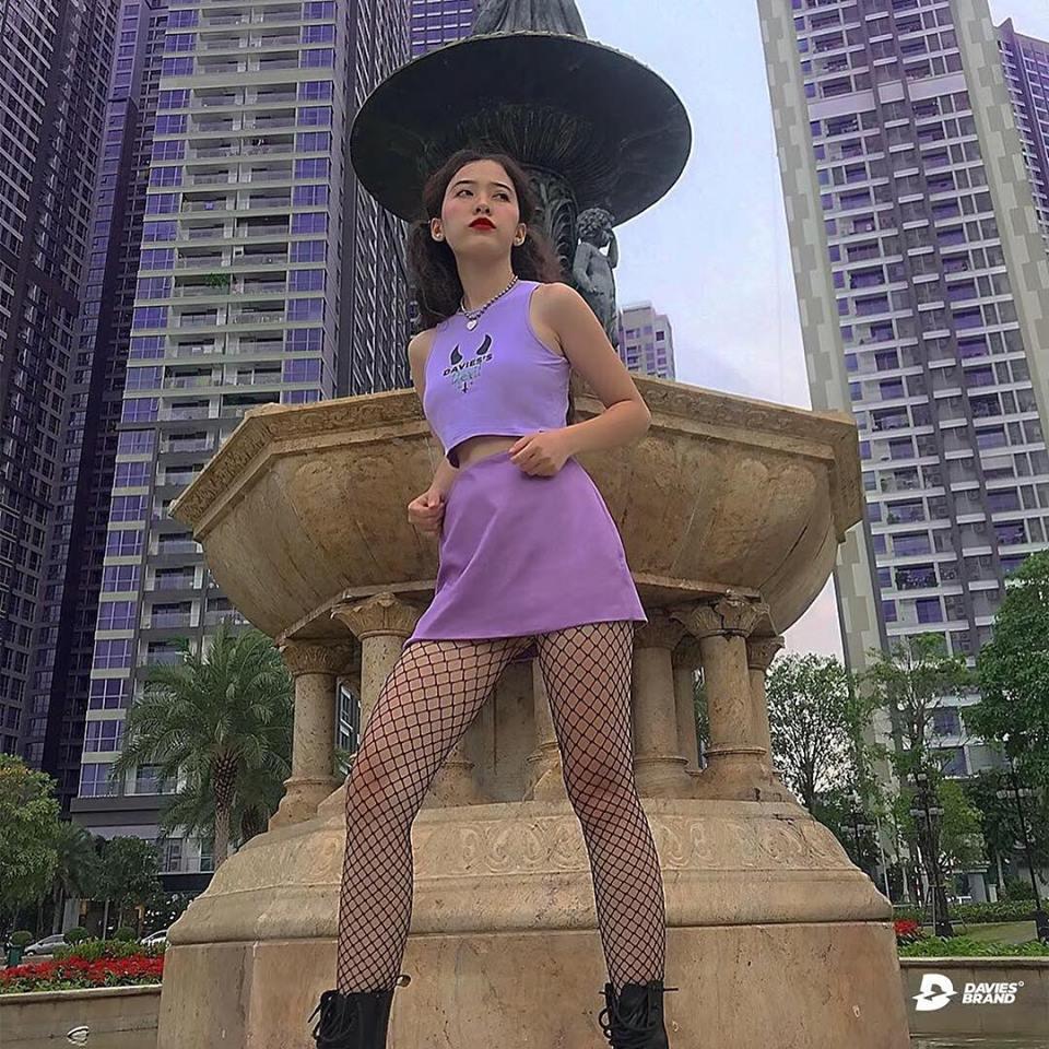 DSS Croptop Devil-Violet