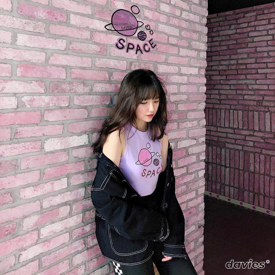 DSS Croptop Space-Violet