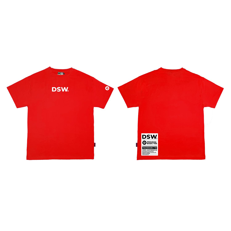 DSW Basic Tee Premium-RED