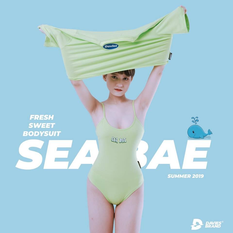 DSS Bodysuits Sea Bae-Neon