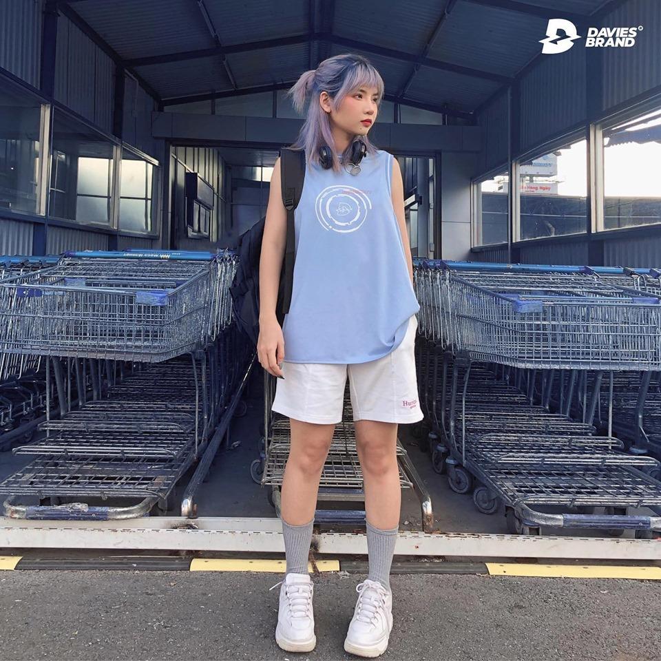 DSS Tanktop Breakout-Blue