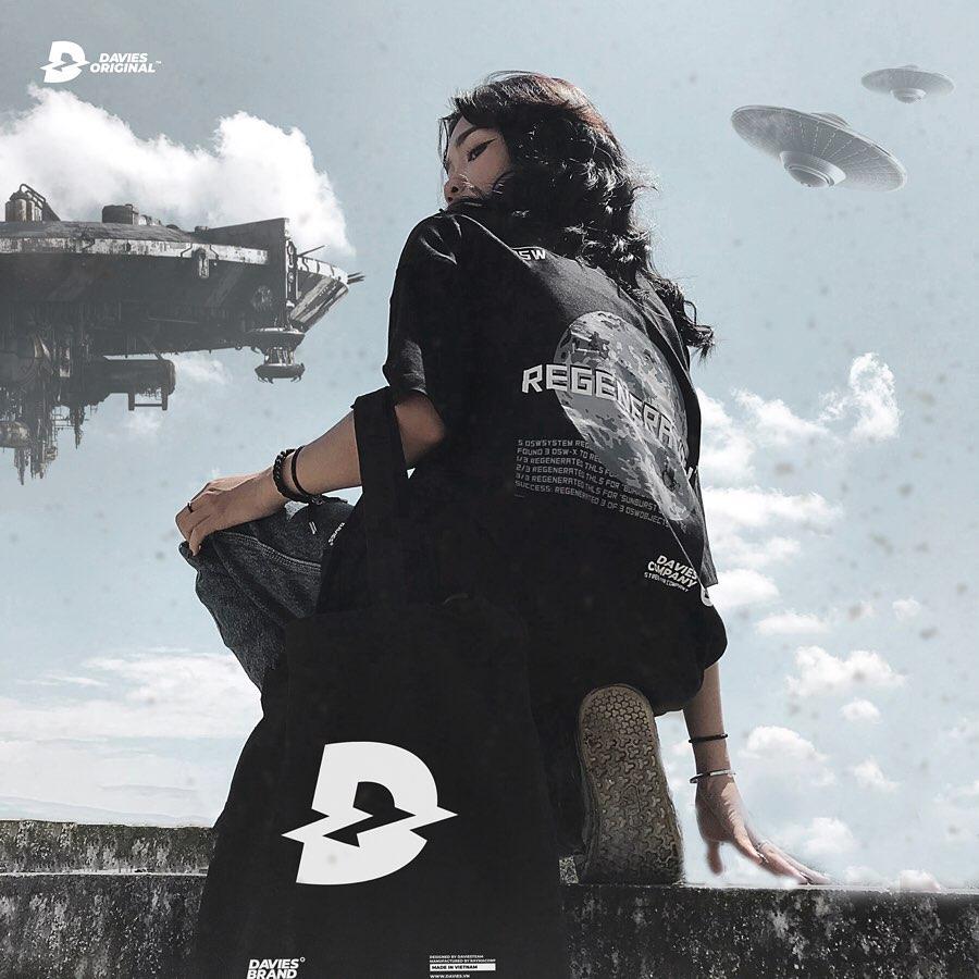 DSW Tee Regeneration Reflective-Black