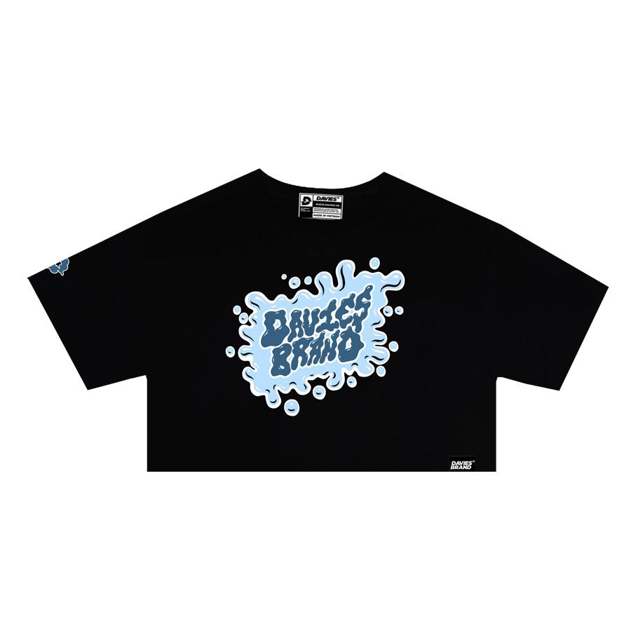 DSS Croptop Cute Paint-Black