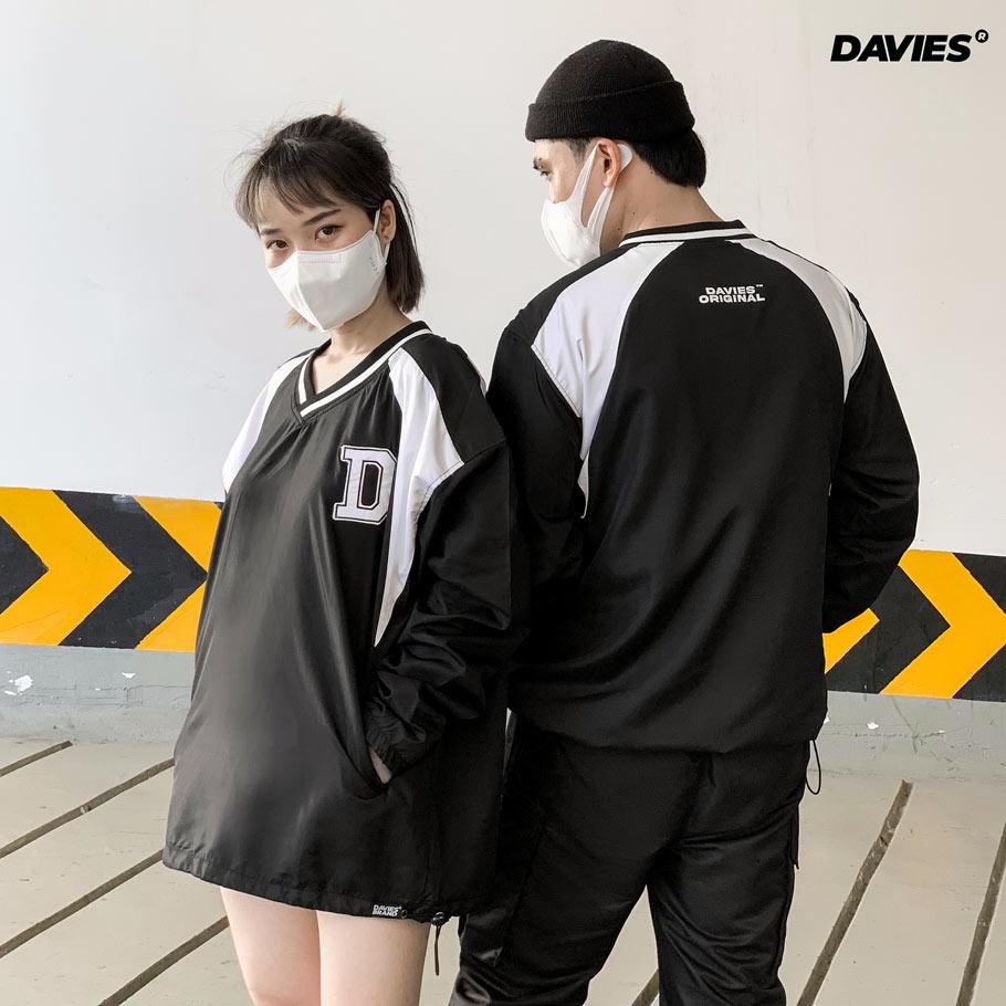 áo dài tay rộng local brand Davies