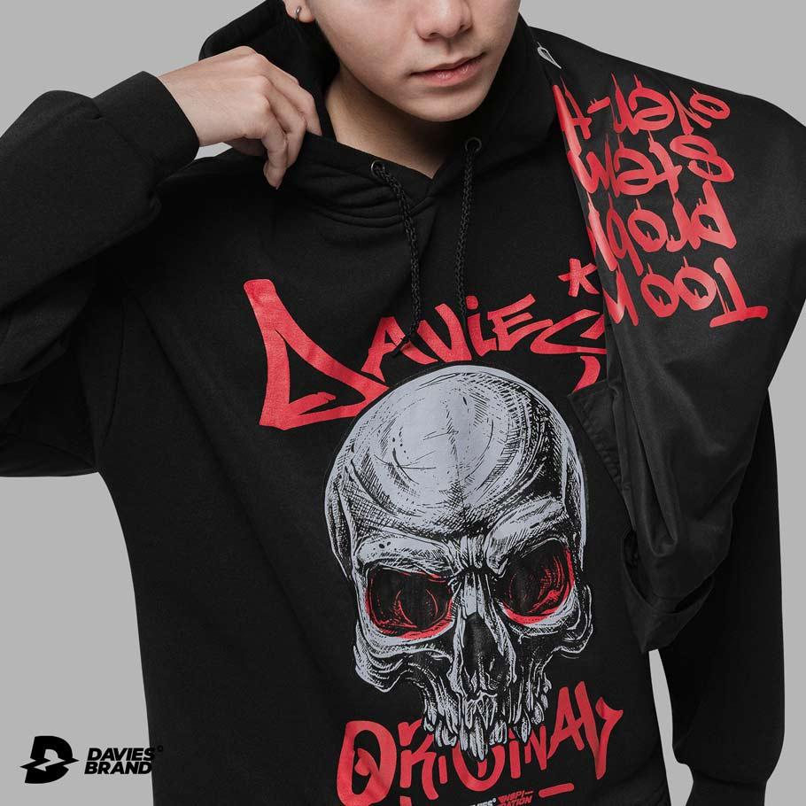 DSW Hoodie Old Skull
