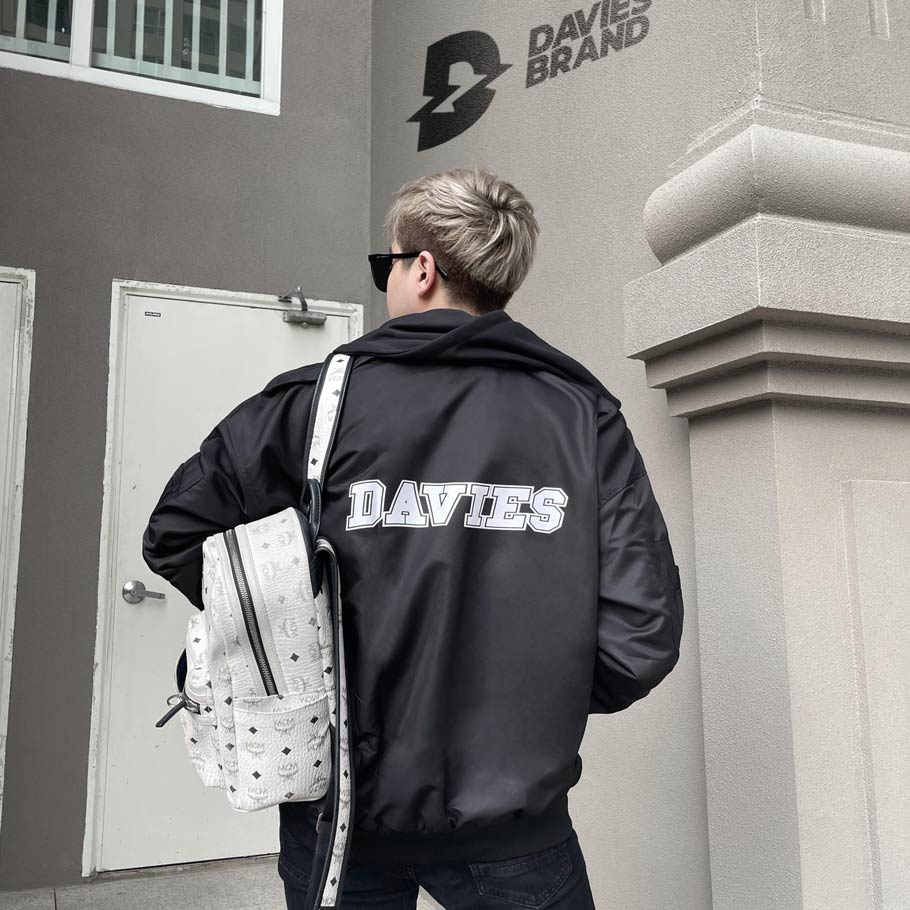 DSW Hooded Bomber Jacket