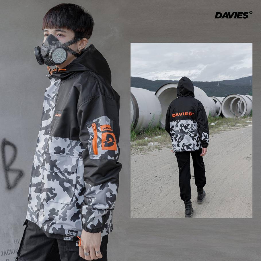 DSW Jacket Everest Grey Camou