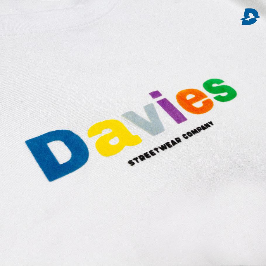 DSS Tee Basic Color-White
