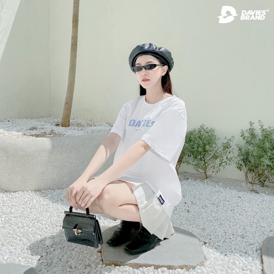 DSS Tee Cotton-White