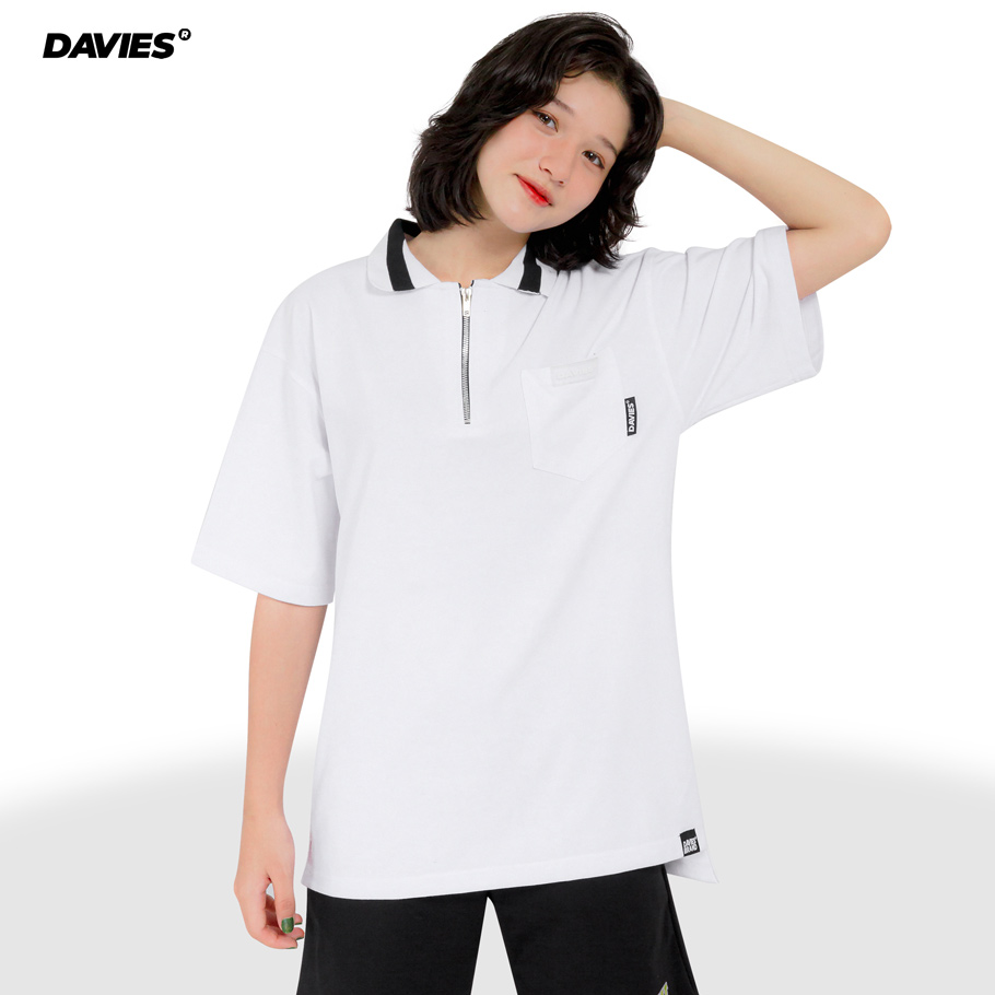 DSW Polo High Low - White