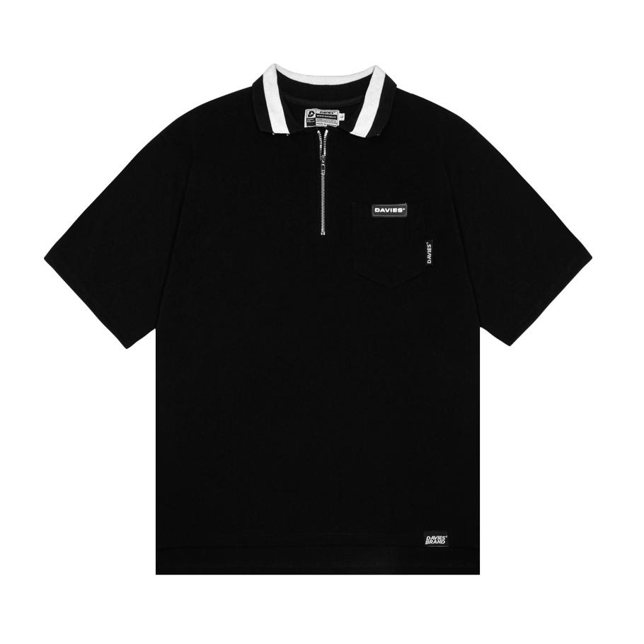 DSW Polo High Low - Black