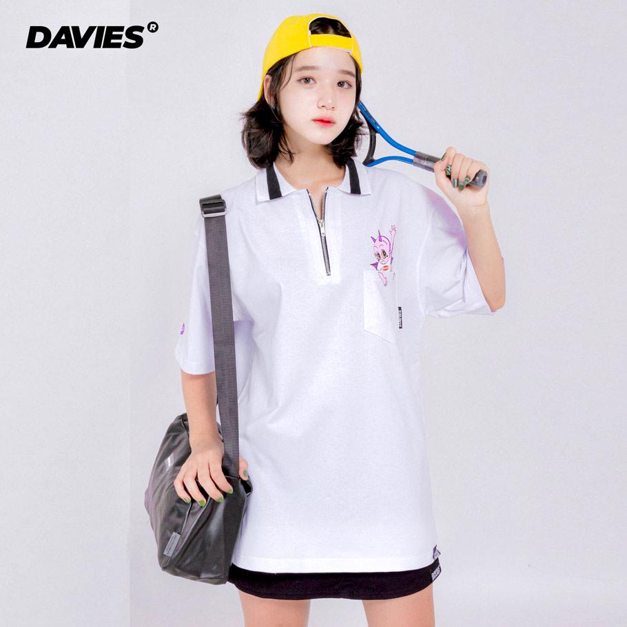 DSS Polo Devil Say Hi - White