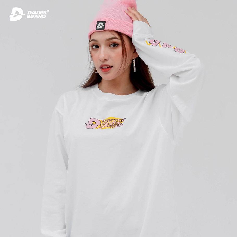 DSS Sweater Pink Logo