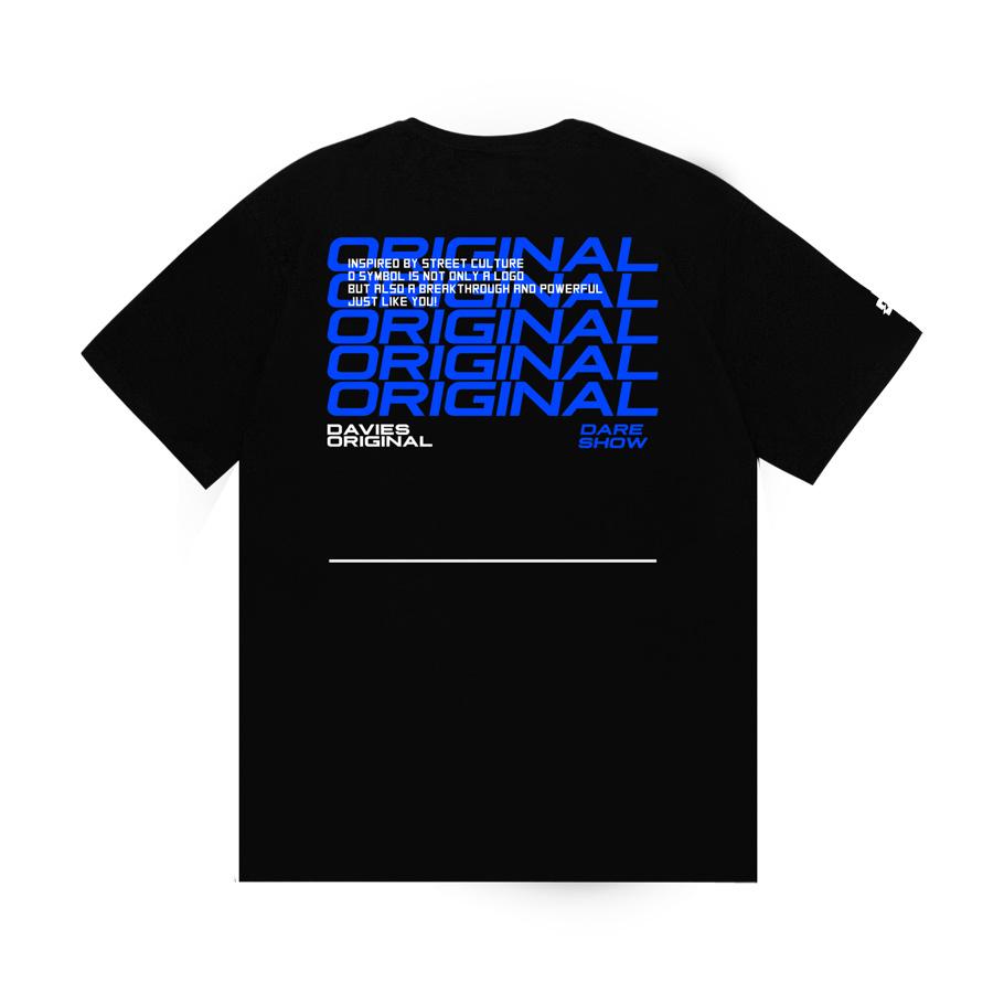 DSW Tee Dare show merchandise Blue