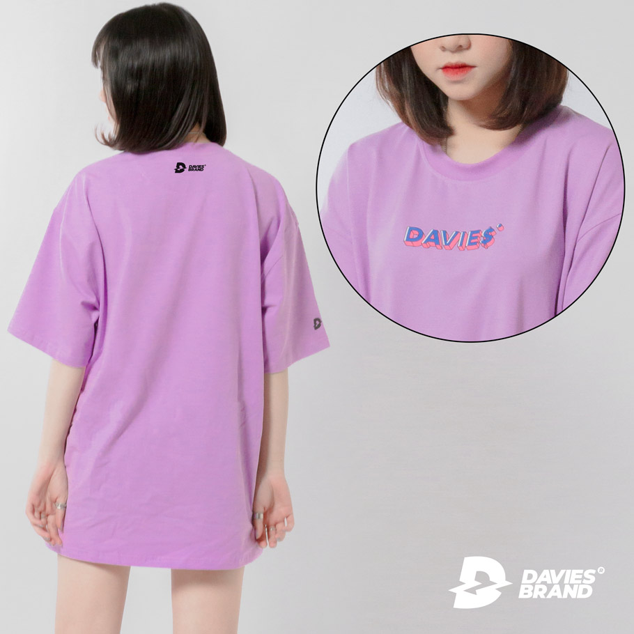 DSS Tee Led Text-Violet