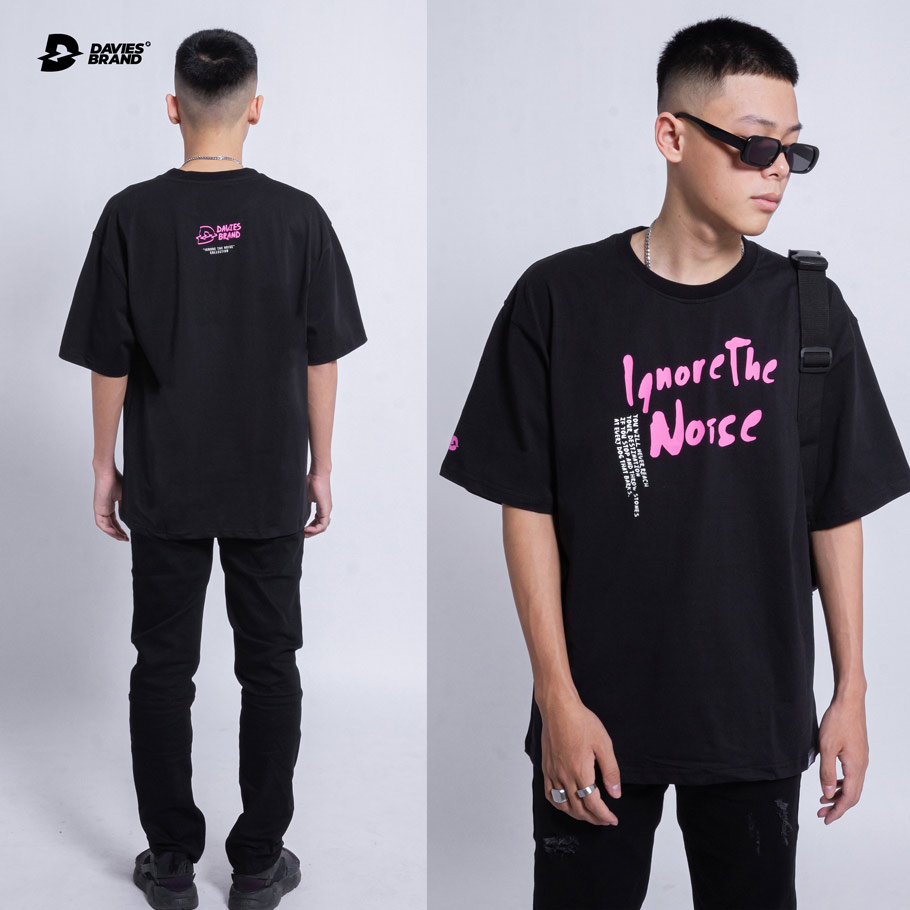 DSW Tee Ignore The Noise Pink