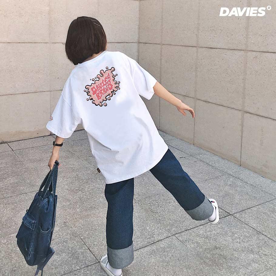 DSS Tee Cute Paint-White
