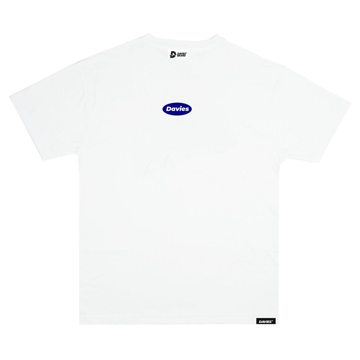 DSS Tee Basic Logo-White