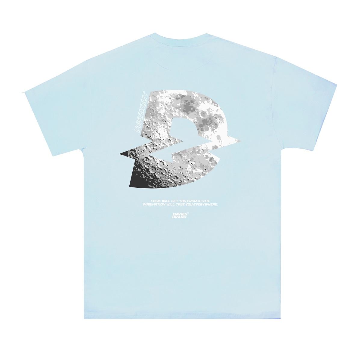 DSS Tee Moon Logo-Blue