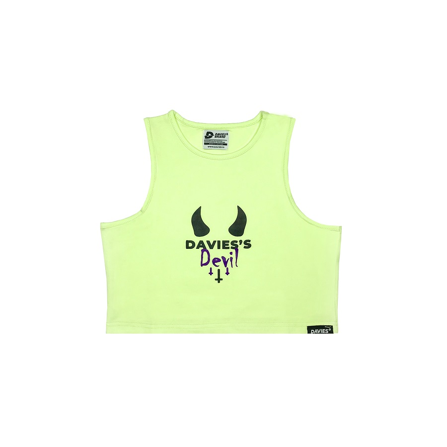 DSS Croptop Devil-Green