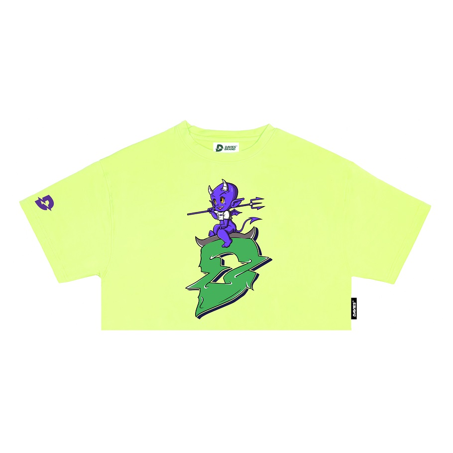 DSS Croptop D Devil-Green