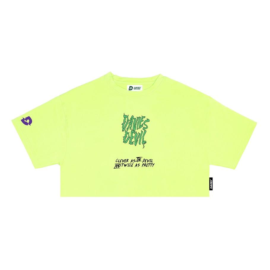 DSS Croptop D Devil Baby-Green