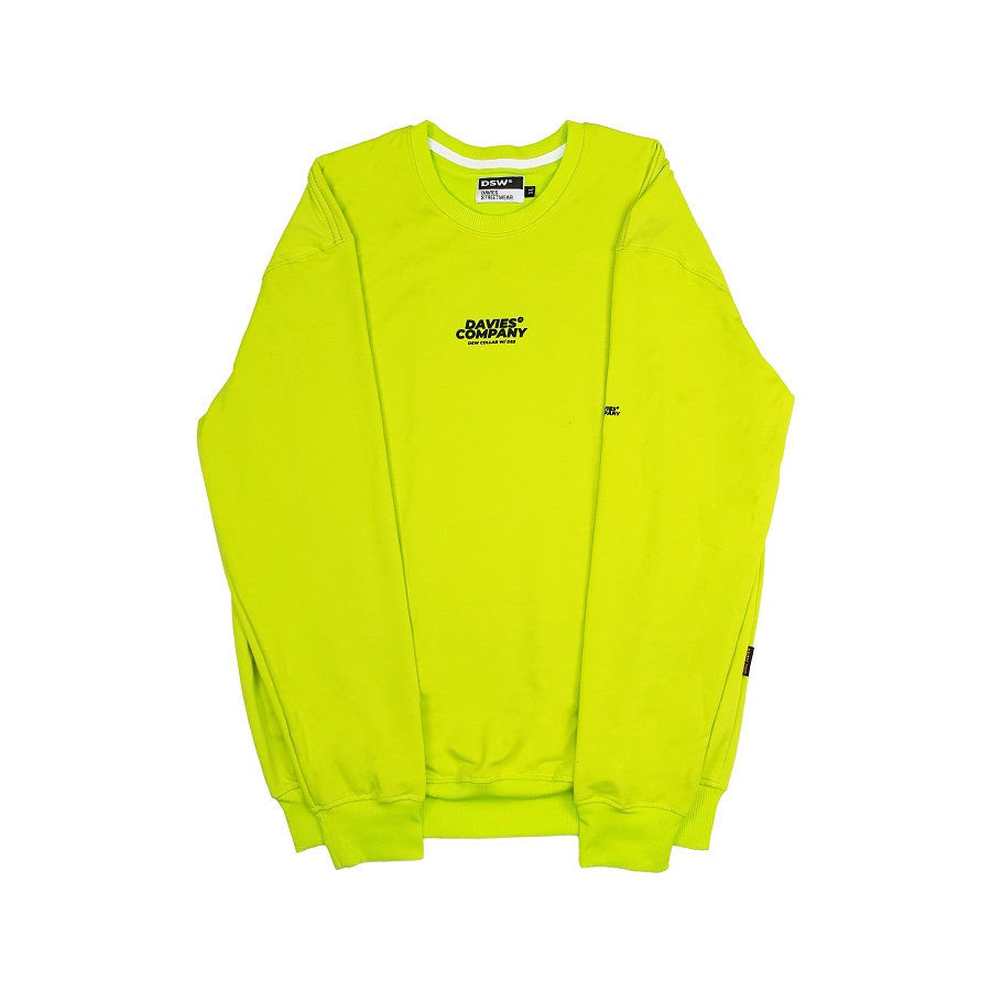 DSW SWEATER DAVIES COLLAB - NEON
