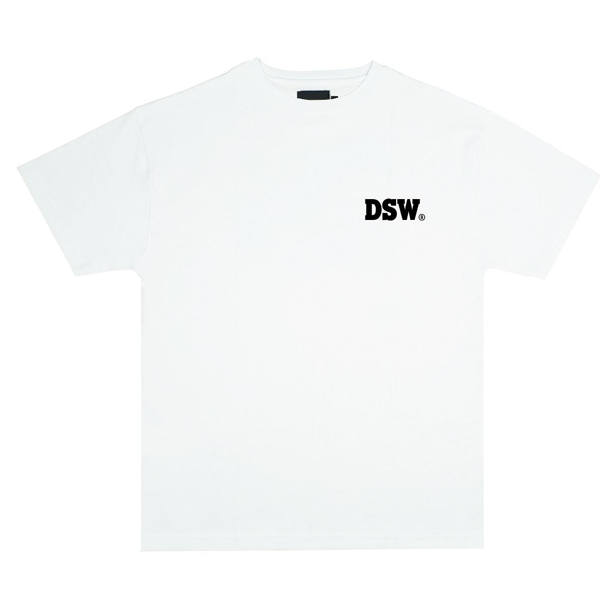 DSW TEE BASIC LOGO - WHITE