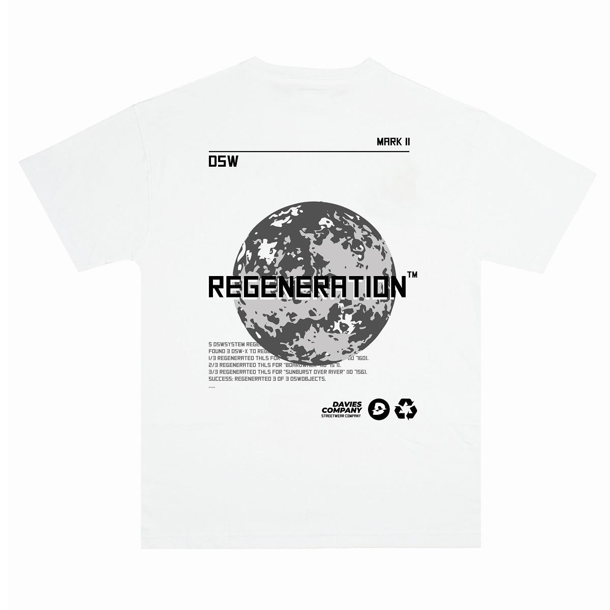 DSW Tee Regeneration Reflective-White