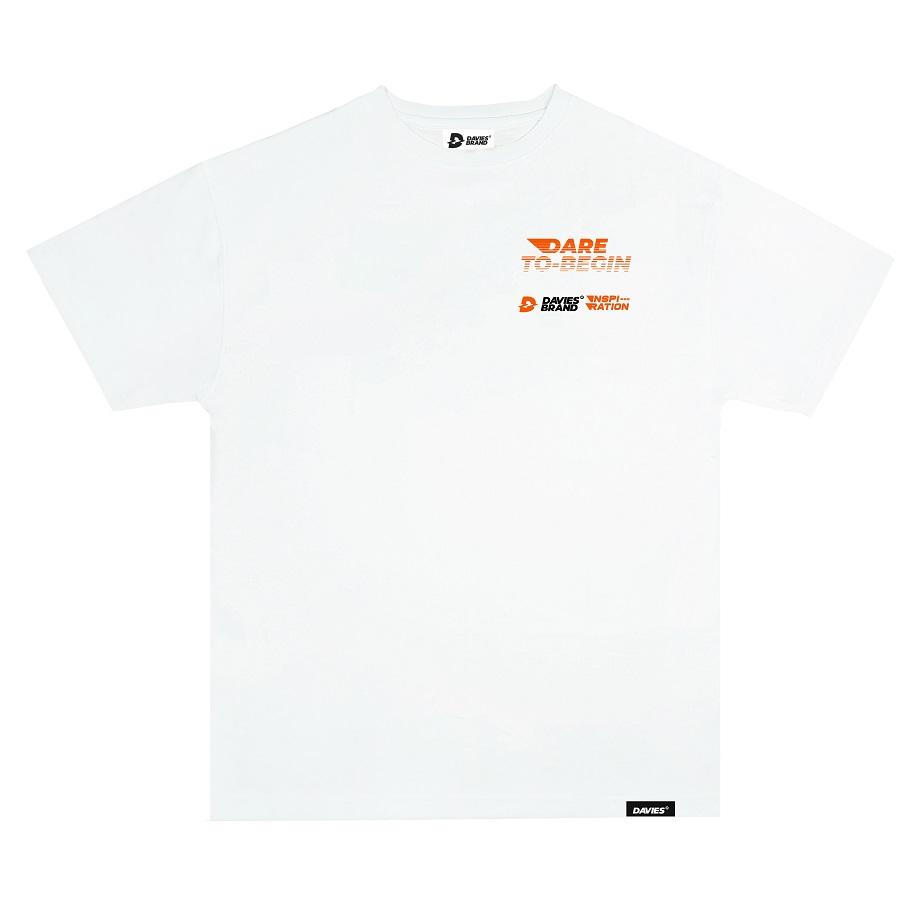 DSW Tee Logo Fire 2-White