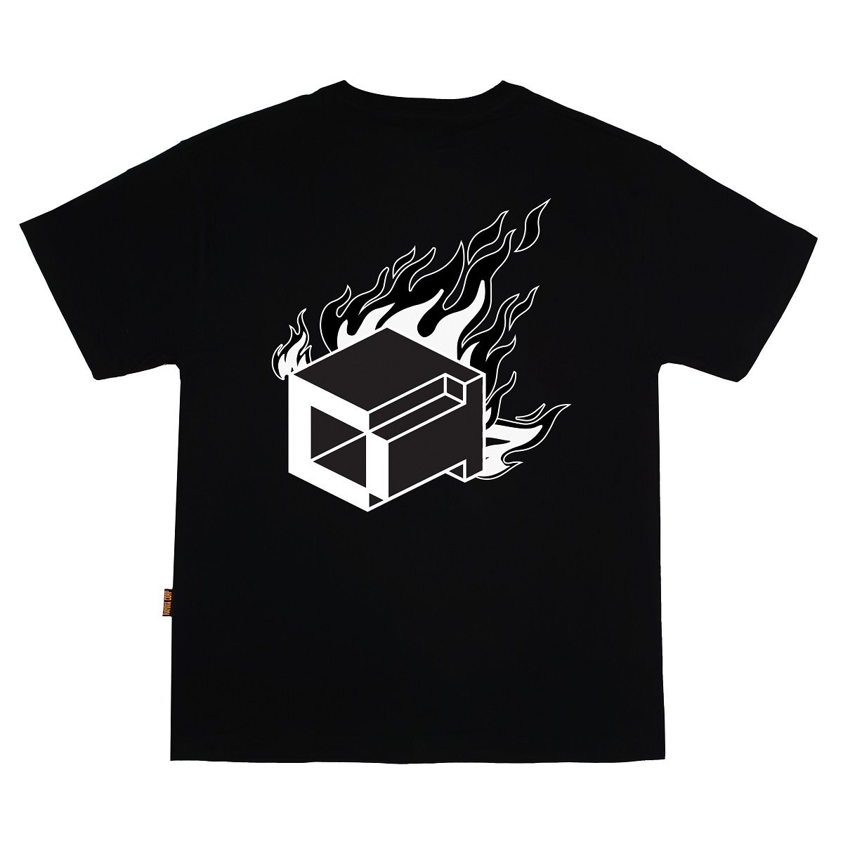 DVSL TEE BITCH IM ON FIRE - BLACK