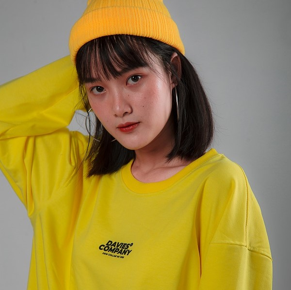 DSS SWEATER DAVIES COLLAB - YELLOW