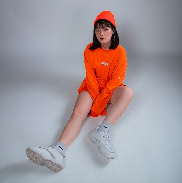 DSS SWEATER DAVIES COLLAB - ORANGE