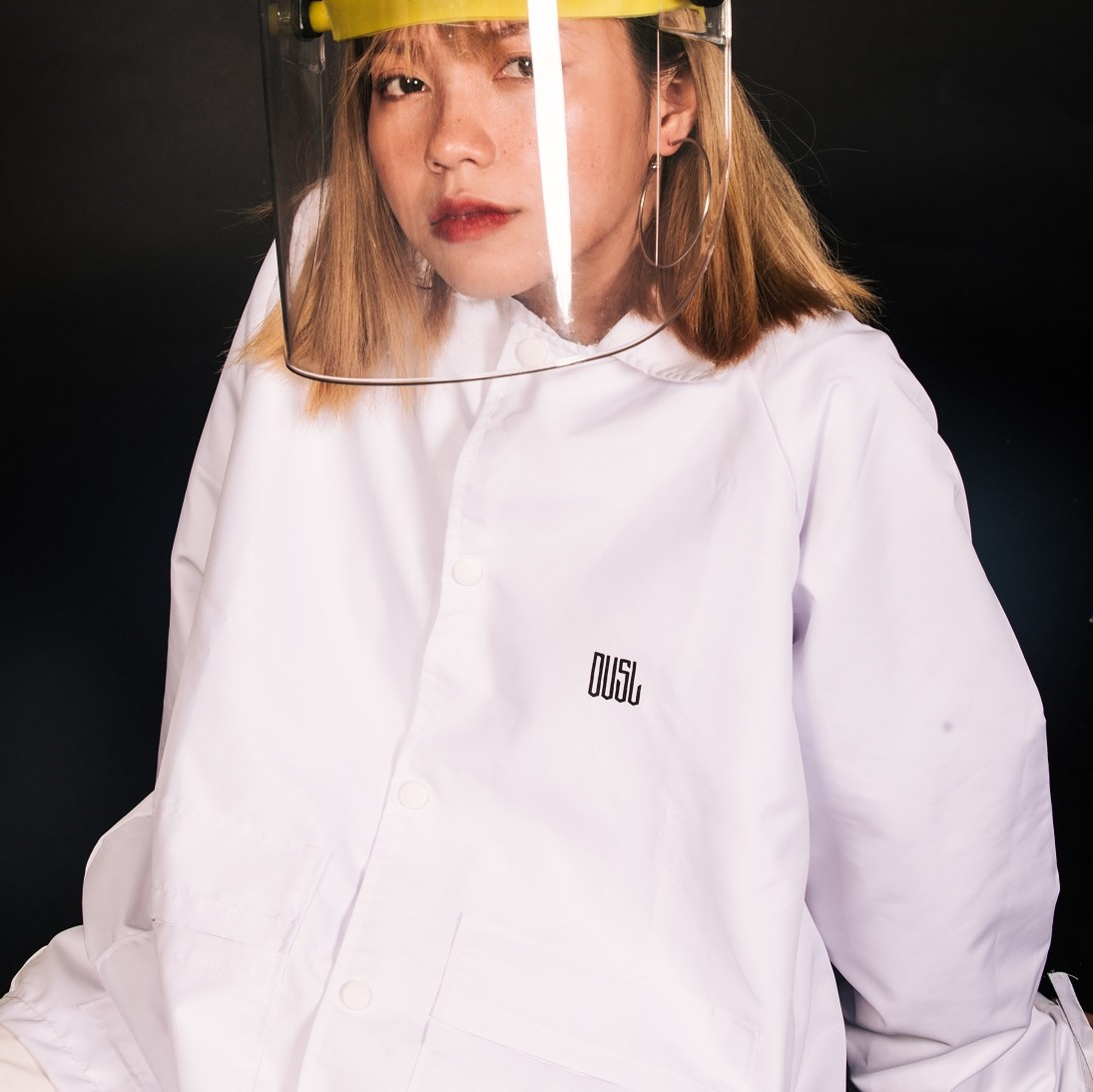 DVSL SCIENTIST JACKET - WHITE
