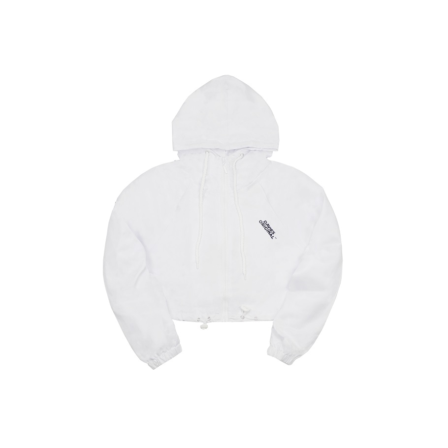 DSS Cropped Jacket Break-White