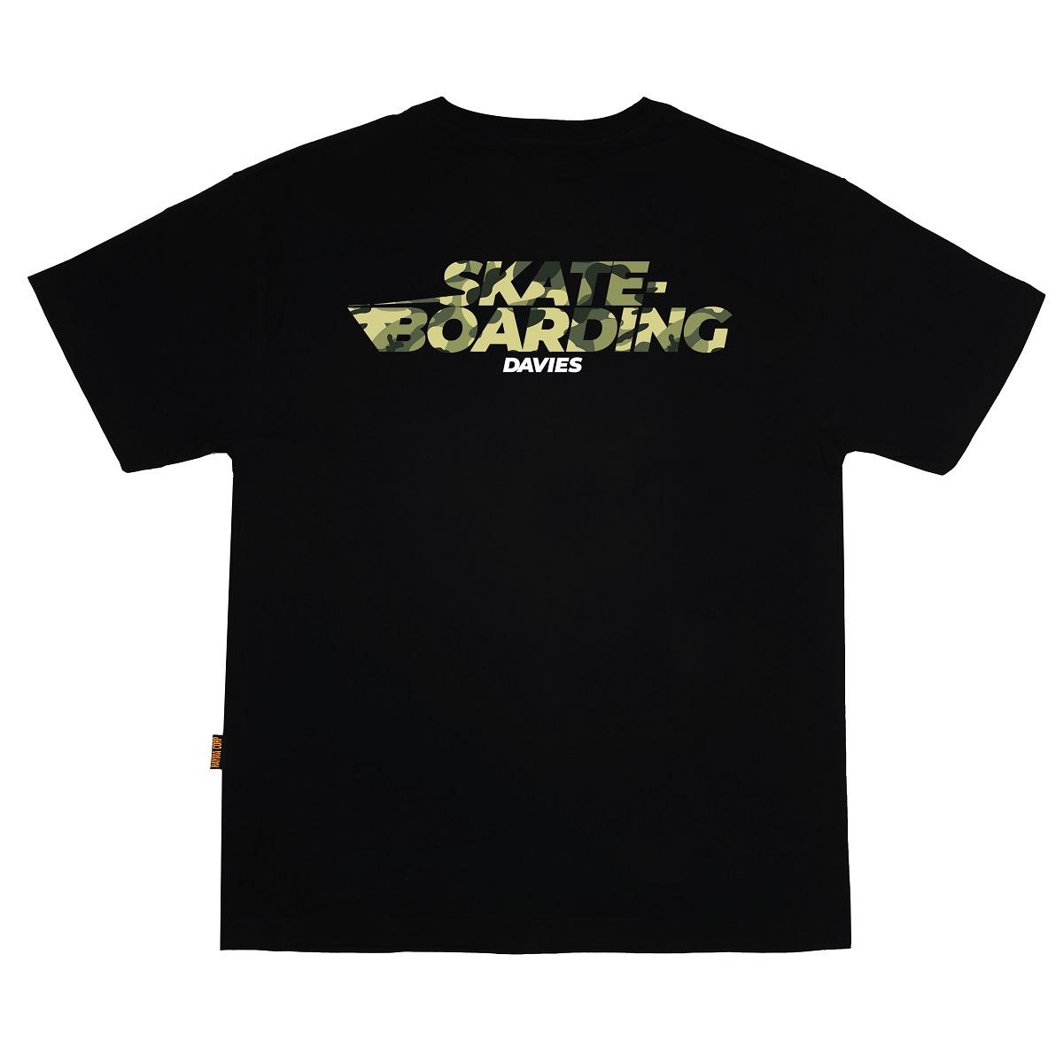 DSW Tee Skateboarding Camo-Black