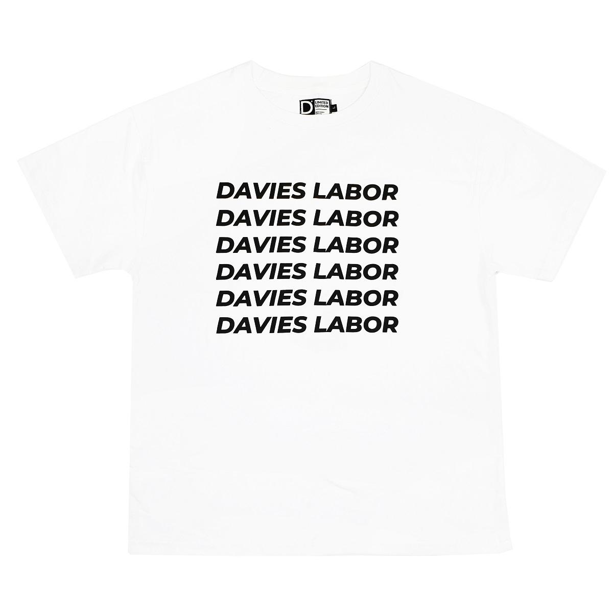 DVSL TEE DAVIES LABOR - WHITE