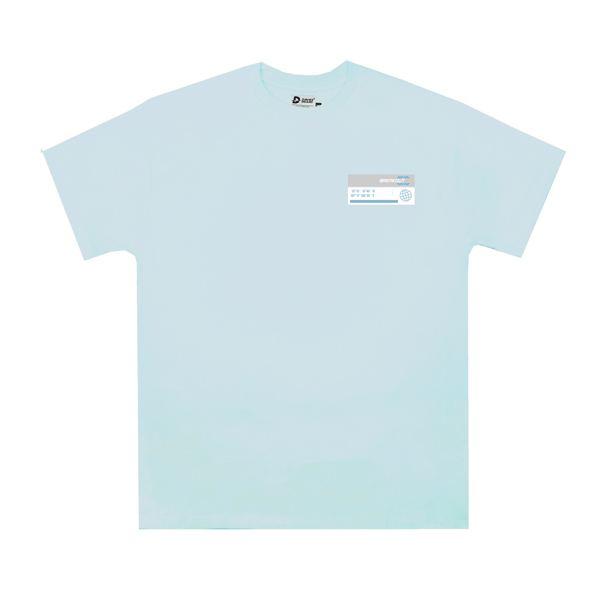 DSS Tee Moon Small Logo-Blue