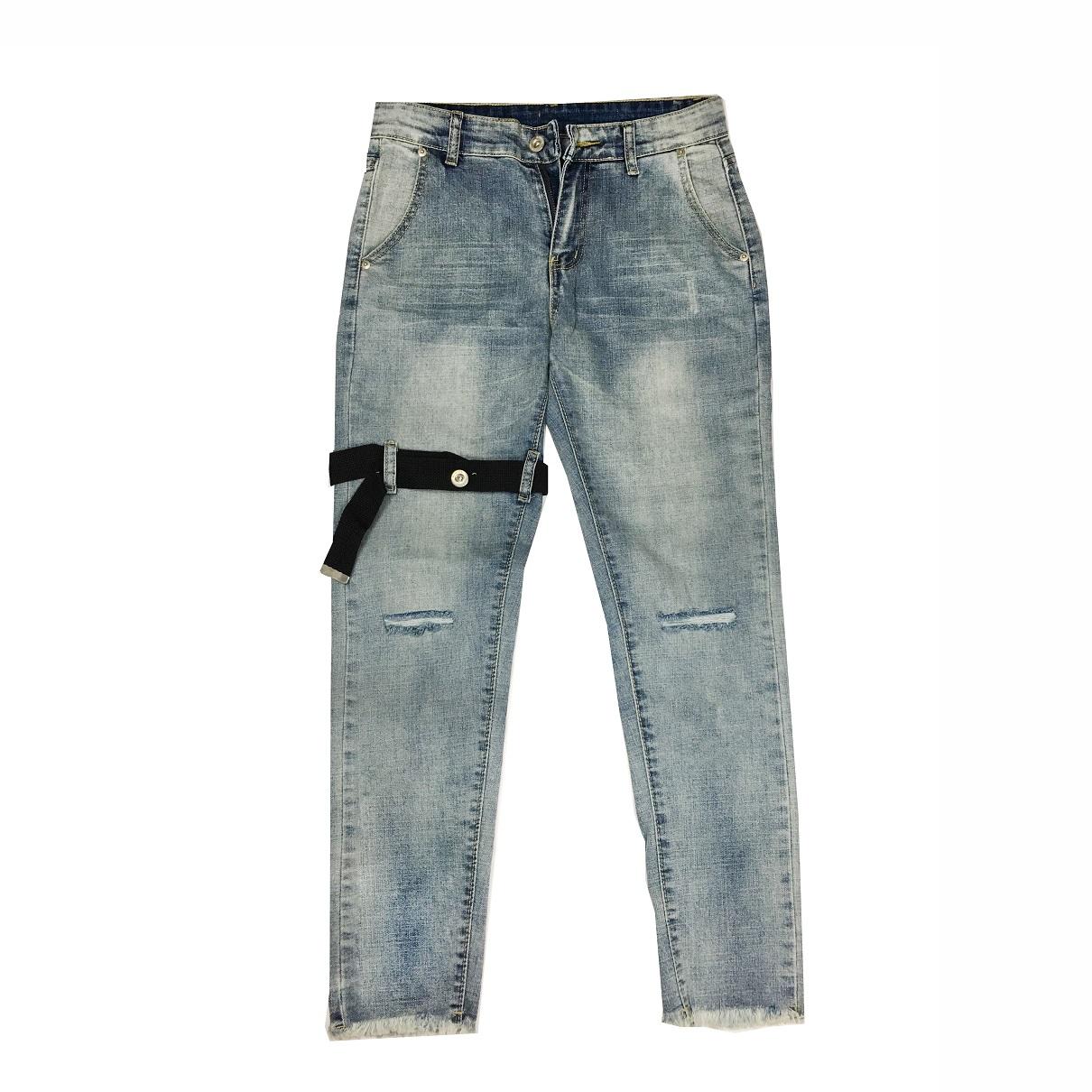 DVSL Jean With Straps Grey
