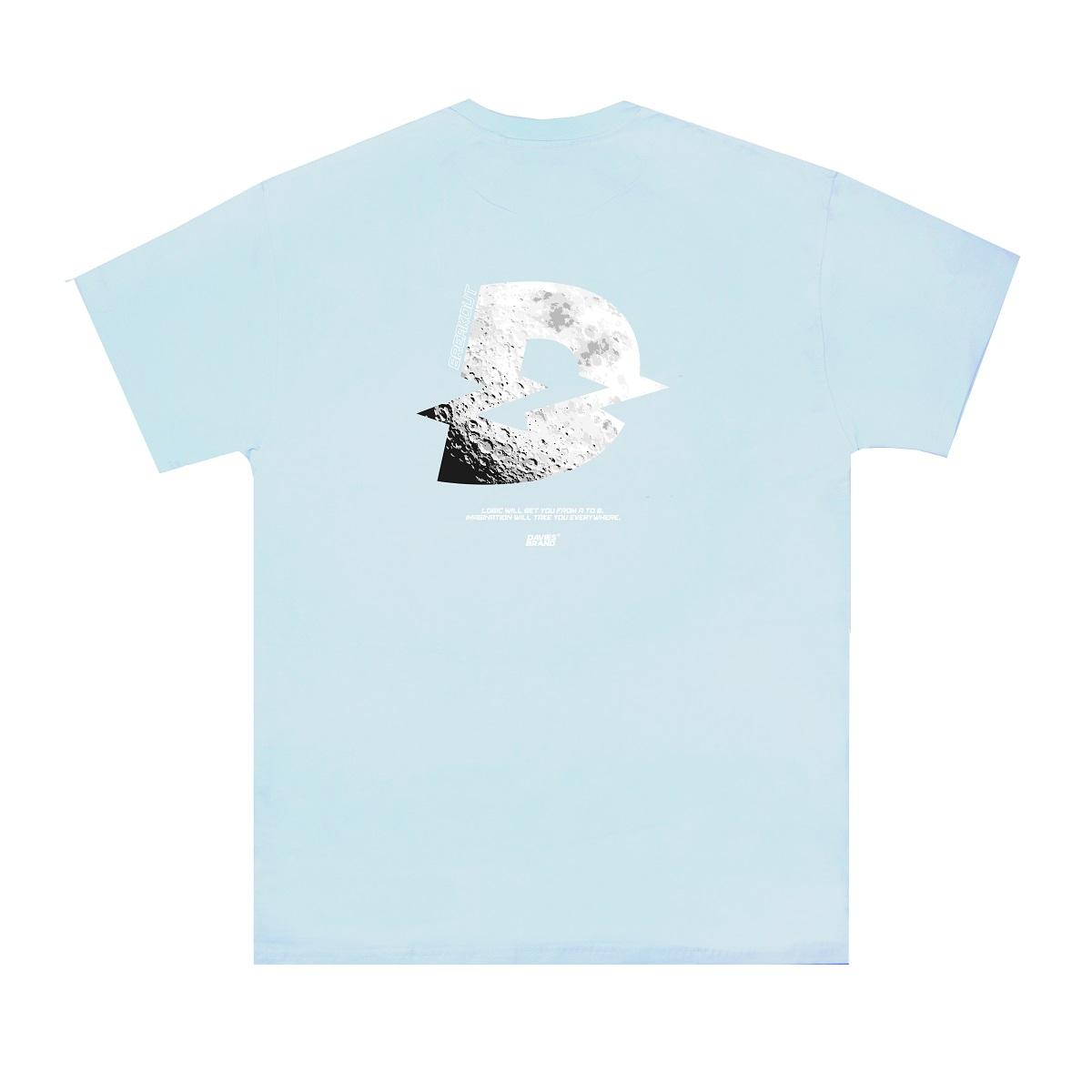 DSS Tee Moon Small Logo-Blue