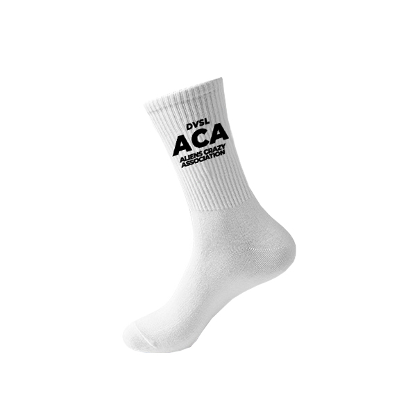 DVSL SOCKS ACA WHITE
