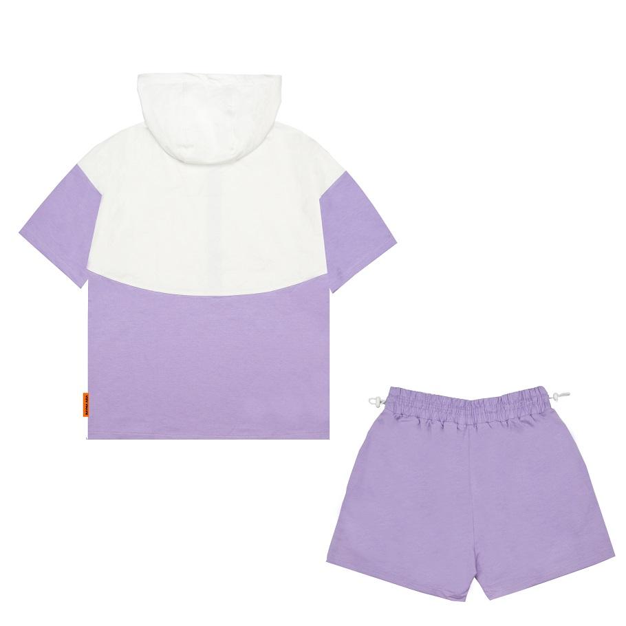 DSS Set Zipper Box-Violet