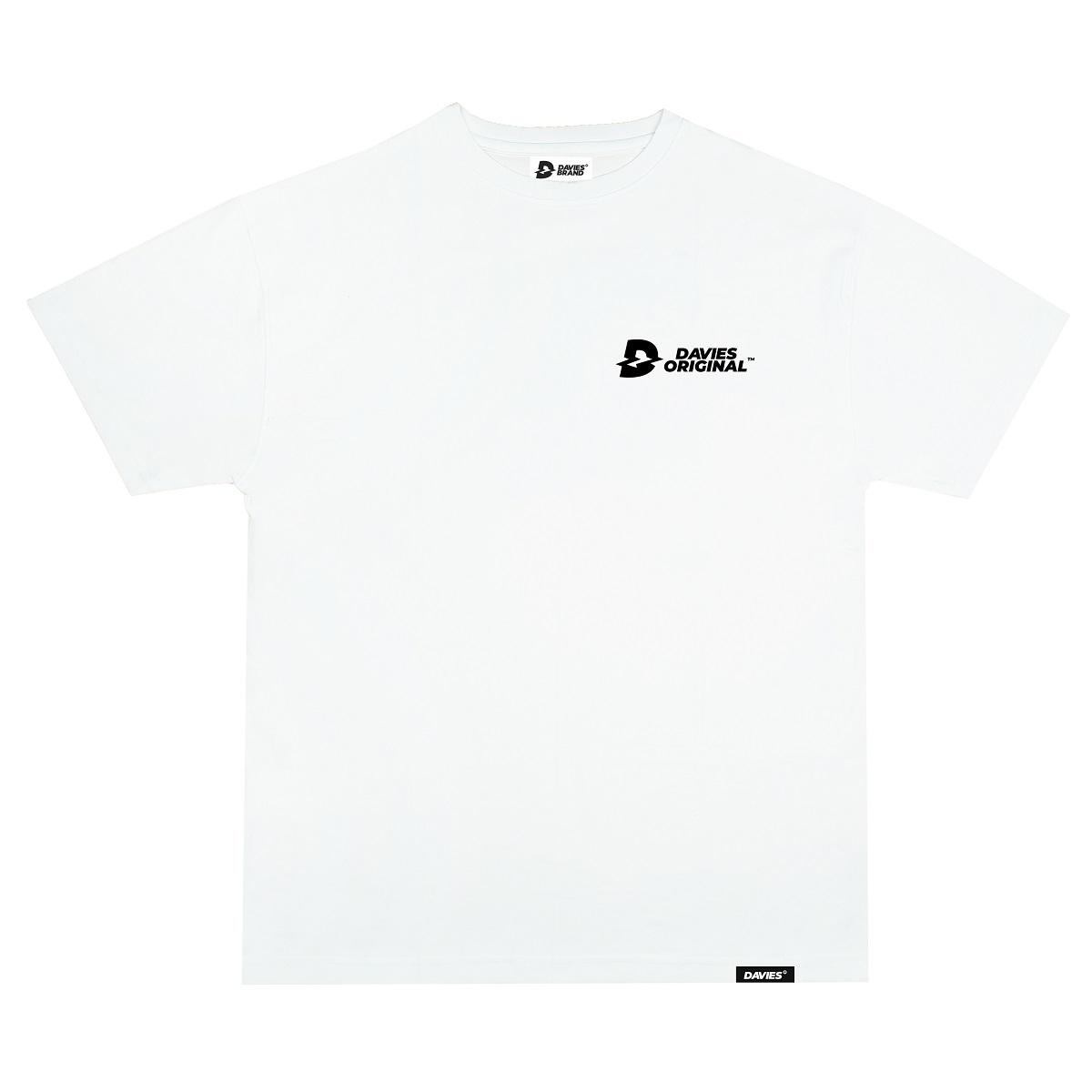 DSW Tee Basic New Logo-White
